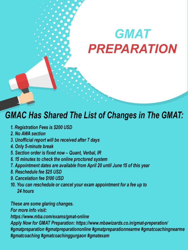 gmat update